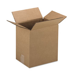 General Supply Brown Corrugated - Fixed-Depth Shipping Boxes, 12l x 9w x 3h, 25/Bundle UFS1293