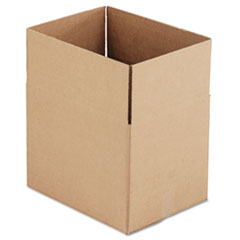 General Supply Brown Corrugated - Fixed-Depth Shipping Boxes, 16l x 12w x 12h, 25/Bundle UFS161212
