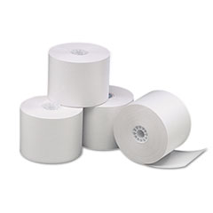 """Universal® Direct Thermal Printing Paper Rolls, 2.25"""" x 85 ft, White, 3/Pack"""