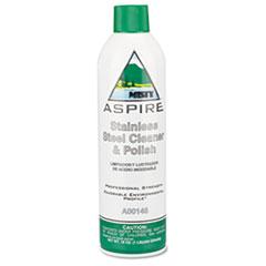 Misty® Aspire Stainless Steel Cleaner & Polish, Lemon Scent, 16oz Aerosol