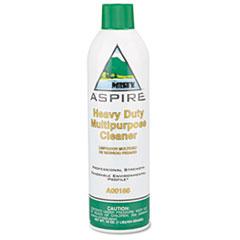 Misty® Aspire Heavy-Duty Multipurpose Cleaner, Lemon Scent, 16oz Aerosol, 12/Carton
