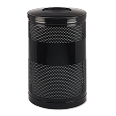 Rubbermaid® Commercial Classics Perforated Open Top Receptacle
