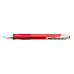 Velocity Ballpoint Retractable Pen, Red Ink, Medium, Dozen