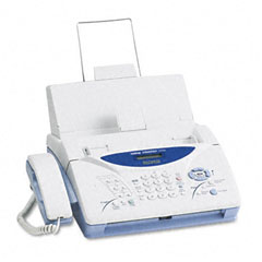 Brother Fax Machine: Ribbon Transfer