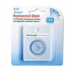 Bidex Straight Blade for Personal/Professional Rotary Trimmers