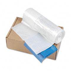 Powershred Shredder Bags f/Models C-380, C-380C, Clear, 50 Bags & Ties/Carton
