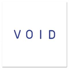 Pre-Inked Stamp, VOID, Blue