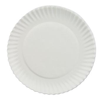 White Paper Plates 6  dia 100/Bag 10 Bags/Carton  sc 1 st  OnTimeSupplies.com & White Paper Plates by AJM Packaging Corporation AJMPP6GREWH ...