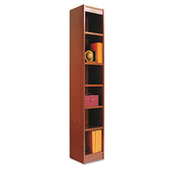 Alera® Narrow Profile Bookcase With Finished Back Thumbnail