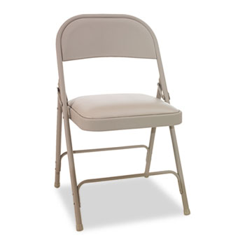 steel folding chair with two brace support by alera alefc94vy50t