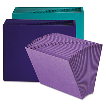 Smead® Heavy-Duty Indexed Expanding Open Top Color Files Thumbnail
