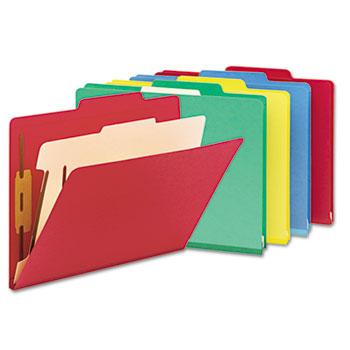 Smead® Colored Top Tab Classification Folders Thumbnail