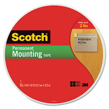 Scotch® Permanent High-Density Foam Mounting Tape Thumbnail