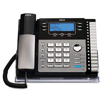RCA® ViSYS™ Four-Line Corded Expandable Business Phone System Thumbnail