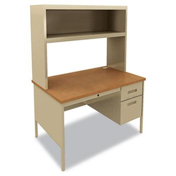 HON® Metro Classic Series Single Pedestal Desk Thumbnail