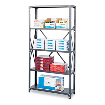 Safco® Heavy-Duty Commercial Steel Shelving Unit Thumbnail