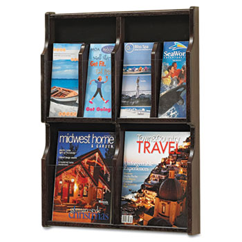 Safco® Expose™ Adjustable Magazine/Pamphlet Literature Display Thumbnail