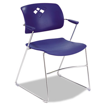 Safco® Veer™ Flex Back Stacking Chair Thumbnail