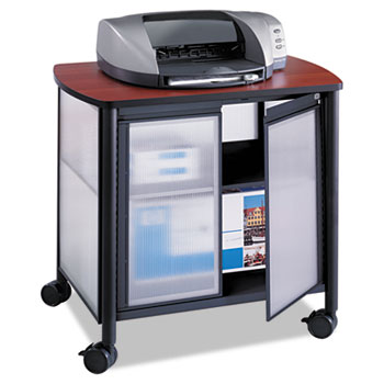 Safco® Impromptu® Deluxe Machine Stand with Doors Thumbnail