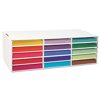 Pacon® Classroom Keepers® Construction Paper Storage Box Thumbnail