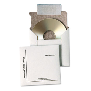 Quality Park™ Disk/CD Foam-Lined Mailers Thumbnail