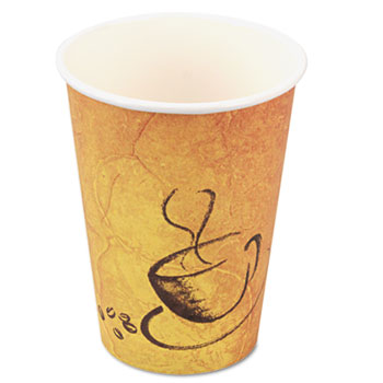Premium Paper Hot Drink Cups, Paper, 8 oz., 600/Carton