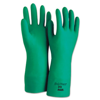 AnsellPro Sol-Vex® Sandpatch-Grip Nitrile Gloves Thumbnail