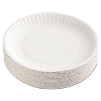 AJM Packaging Corporation Gold Label Coated Paper Plates Thumbnail