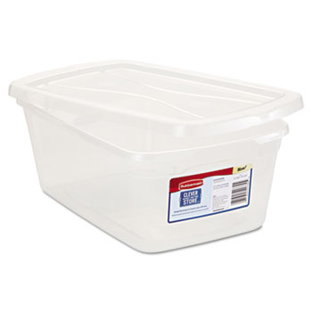Rubbermaid® Clever Store Snap-Lid Container Thumbnail
