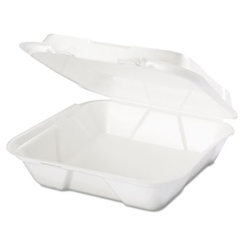 Genpak® Snap It™ Hinged-Lid Foam Food Container Thumbnail