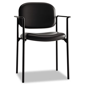 HON® VL616 Stacking Guest Chair with Arms Thumbnail