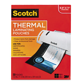 Scotch™ Laminating Pouches Thumbnail