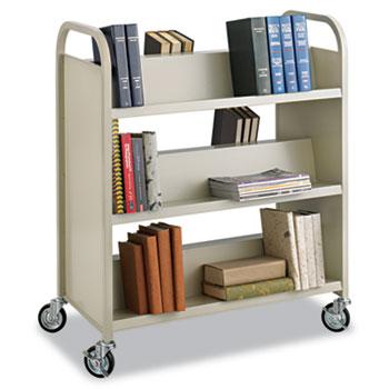 Safco® Steel Book Cart Thumbnail