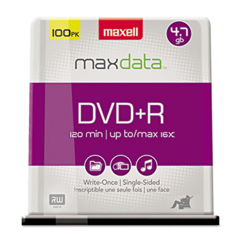 Maxell® DVD+R High-Speed Recordable Disc Thumbnail