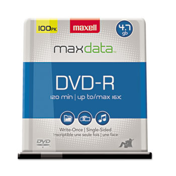 Maxell® DVD-R Recordable Disc Thumbnail