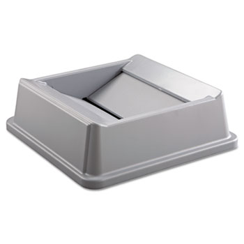 Rubbermaid® Commercial Untouchable® Square Swing Top Lid Thumbnail