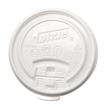 Dixie® Plastic Lids for Dixie® Hot Drink Cups Thumbnail