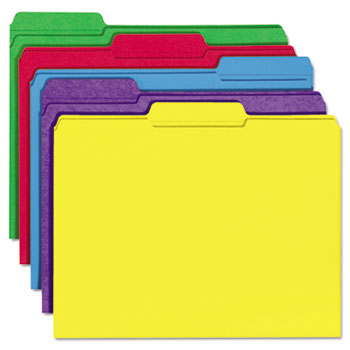 Universal® Deluxe Reinforced Top Tab File Folders Thumbnail