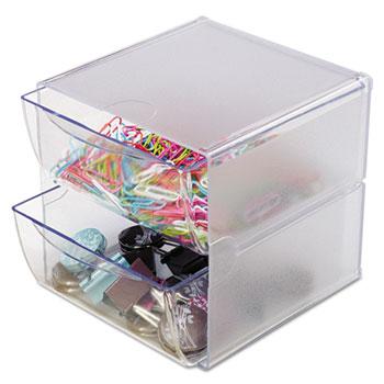deflecto® Stackable Cube Desktop Organizer Thumbnail