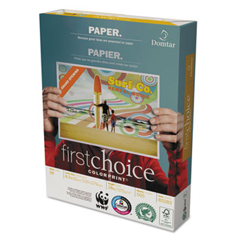 Domtar First Choice ColorPrint® Premium Paper Thumbnail
