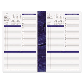 Monticello Dated OnePagePerDay Planner Refill By Franklincovey