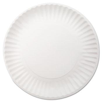 White Paper Plates 9  dia 250/Pack 4 Packs/Carton  sc 1 st  OnTimeSupplies.com & White Paper Plates by Dixie® DXEWNP9OD - OnTimeSupplies.com