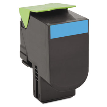 Lexmark™ 80C1SC0, 80C1SK0, 80C1SM0, 80C1SY0 Toner Thumbnail
