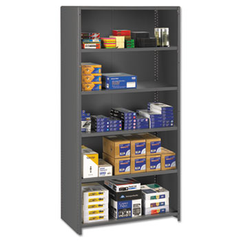 "Tennsco 75"" High Commercial Steel Shelving Thumbnail"