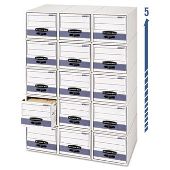 Bankers Box® STOR/DRAWER® STEEL PLUS™ Extra Space-Savings Storage Drawers Thumbnail
