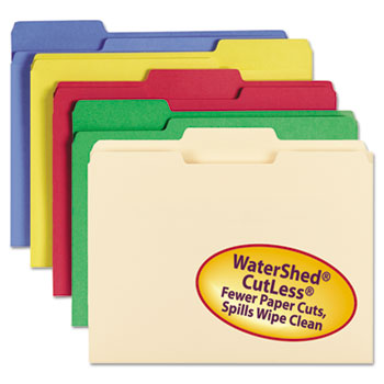 Smead® WaterShed®/CutLess® File Folders Thumbnail