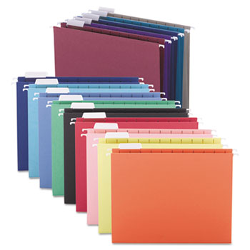 Smead® Colored Hanging File Folders Thumbnail