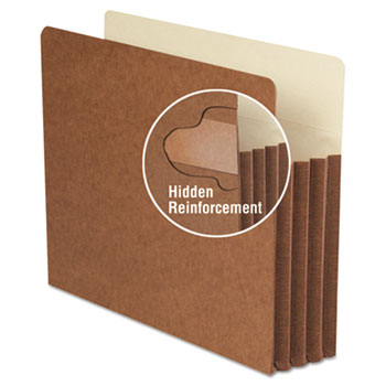 Smead® Redrope TUFF® Pocket Drop-Front File Pockets with Tyvek® Lined Gussets Thumbnail