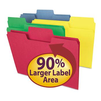 Smead® SuperTab® Colored File Folders Thumbnail