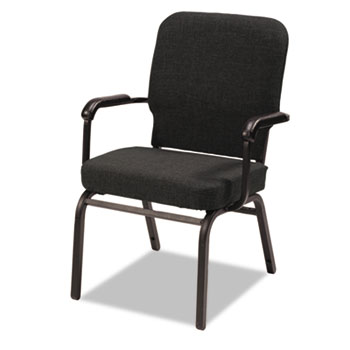 Alera® Oversize Stack Chair with Fixed Padded Arms Thumbnail